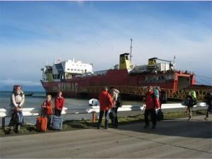 Cargo Ship South America