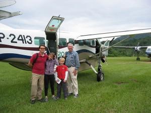 Plane in Bolivia